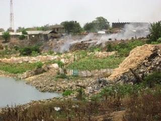 Hills of garbage